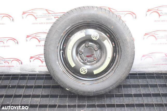 Roata rezerva slim Mercedes a class W169 2005 R16  618 Roata rezerva slim Mercedes a class W169 2005 R16 618