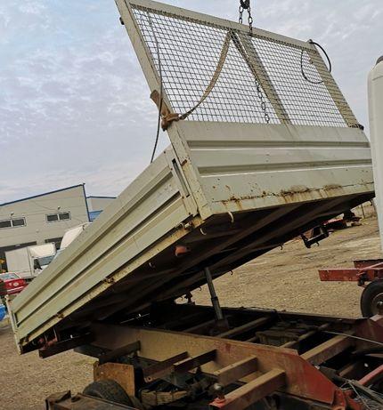Bena 3.20m basculabila trilateral cu echipament-pentru Iveco Daily