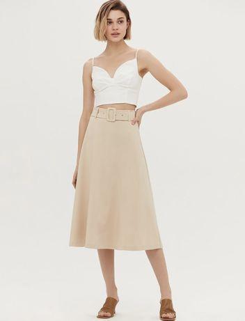 Продаю новую юбку Love Republic светло бежевого цвета