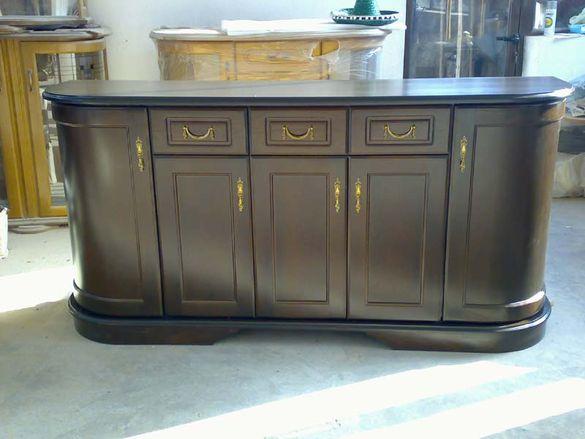 Мебели със специфична овална форма