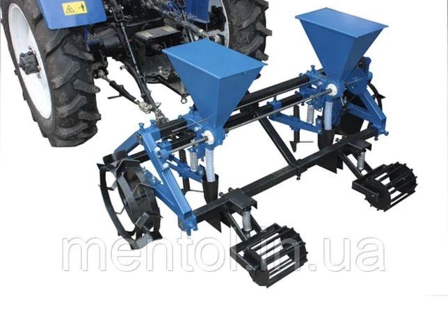 Semanatoare seminte mici si porumb 2 randuri pentru tractoras