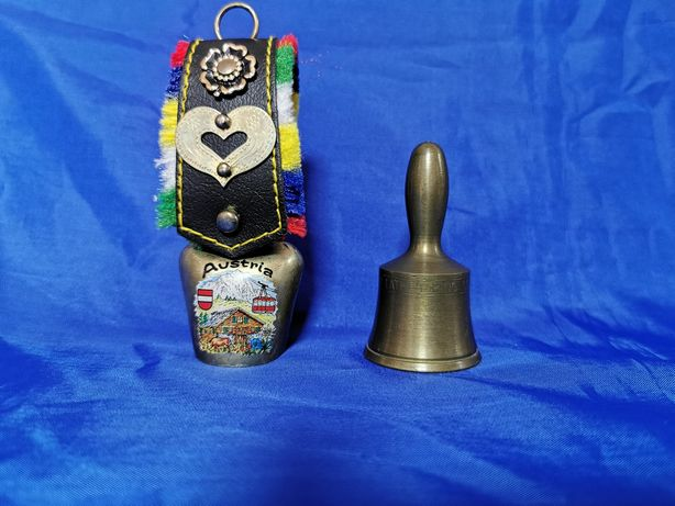 Set vintage minitalanga Austria si Clopotel bronz Marea Britanie
