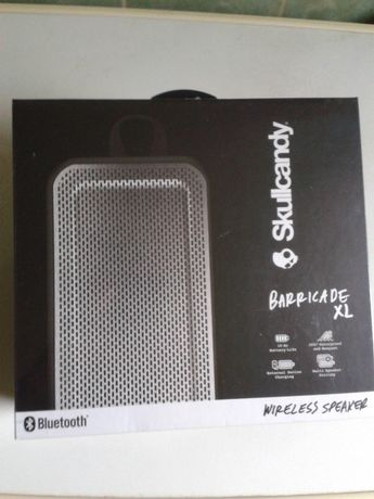 Boxa portabila wireless Skullcandy Barricade BT-XL black/translucent