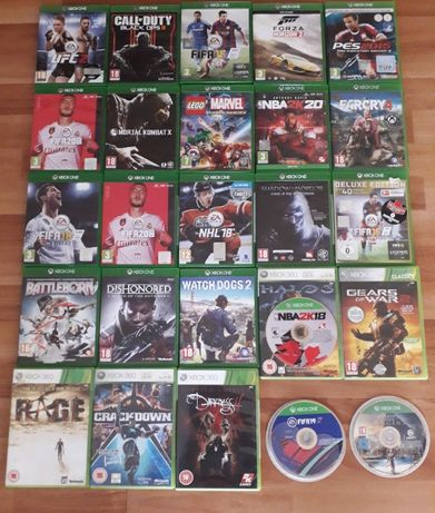 Jocuri Xbox One -Fifa 20,Nba20,Lego Marvel,Mortal Kombat MK XL,Forza