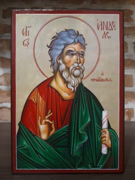 Икона на Свети Андрей Първозвани icona Sveti Andrei Parvozvani