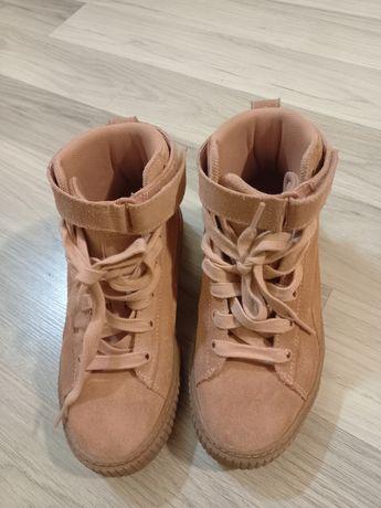 Pantofi sport din piele intoarsa,mărimea 33
