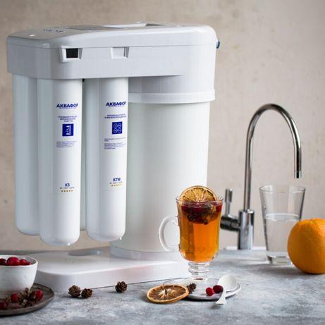 Фильтры и Очистители для воды Аквафор Установка за 1час Водоочистка