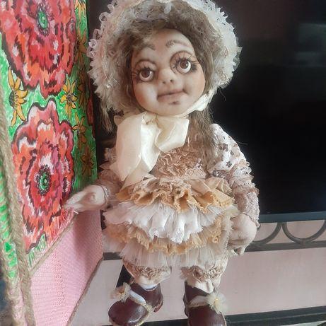 Продам авторскую куклу ручной работы