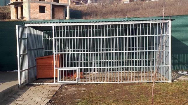 OFERTA: Tarc economic pentru caini de talie mare, de 4 X 2m-Pe stoc