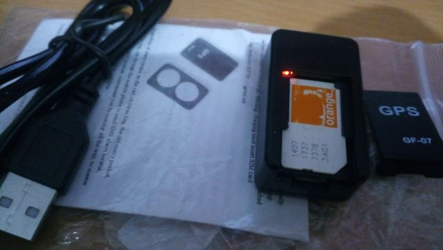 Locator Tracker GPS GF-07 magnetic detector locatie