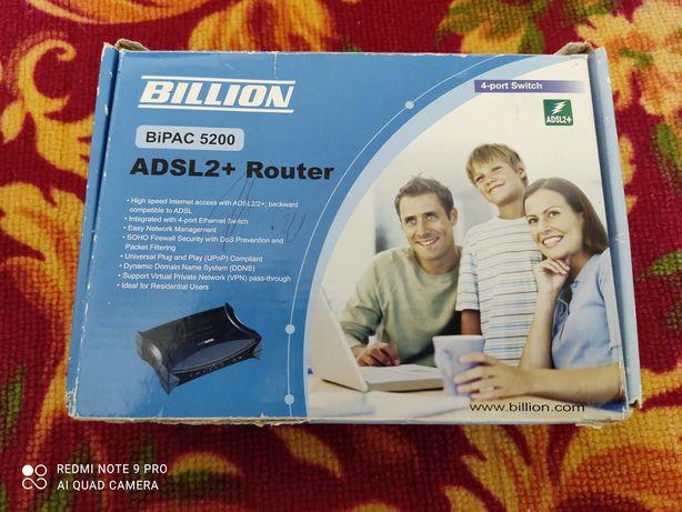 Интернет роутер с комплектом от BILLION