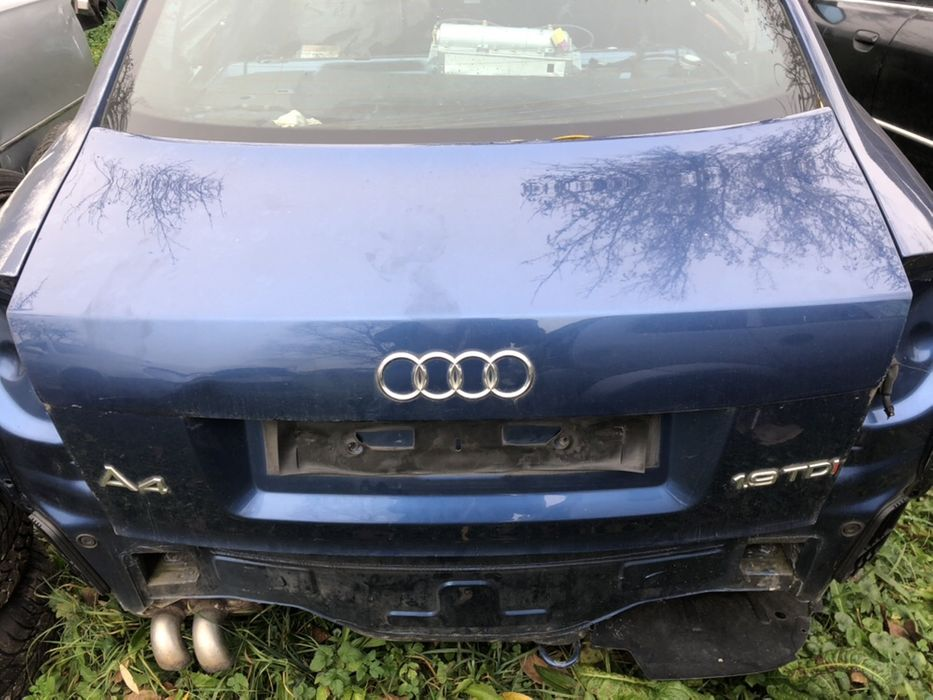 Capota Portbagaj Audi A4 B6 Berlina 2001 - 2005 Horodnic - imagine 1