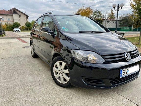 VW golf 6 Plus euro 5 diesel înmatriculat recent