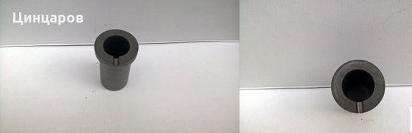 Поти графитни за топене на метал,пещ или директно.Обем 1 ; 2 и 3кг.