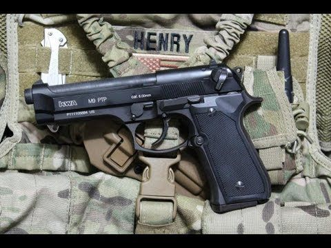 Arma-PISTOL Airsoft MODIFICAT Beretta M9 Full Metal Co2 F.PUTERNIC