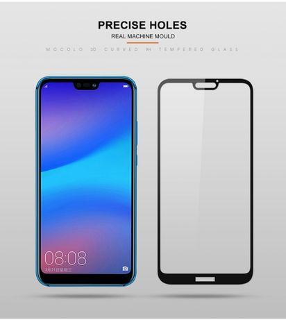 Huawei P20 Lite Pro- Folie Sticla Securizata Full Curbata 11D