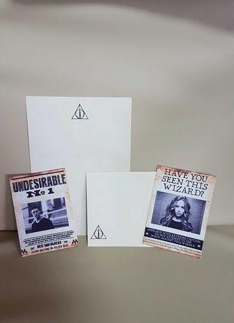Хари Потър картичка с ваша снимка + плик и лист за писмо