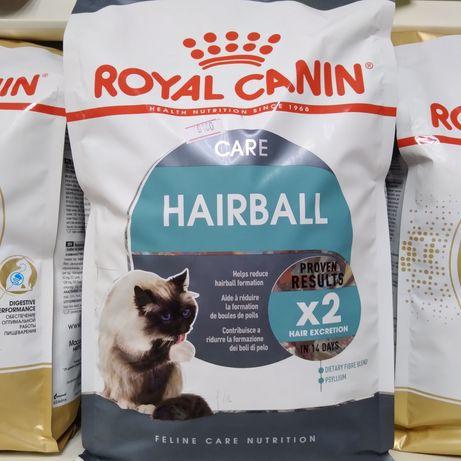 Шерстевыводящий сухой корм Роял Канин, Hairball Royal Canin