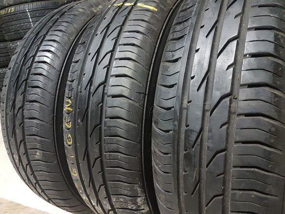 3 бр. летни гуми 175/65/15 Continental 5+ mm DOT 1509