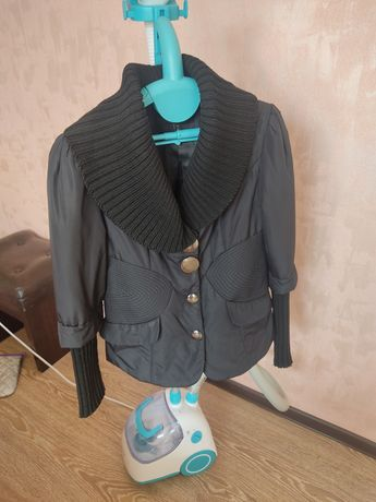 Куртка осенняя черная