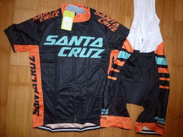 Echipament ciclism Santa Cruz 2021 set nou tricou si pantaloni
