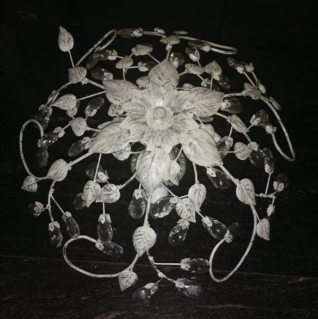 Абажур комплект с две лампи аплик ковано желязо