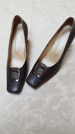 Pantofi Renzoni, piele naturală, 38
