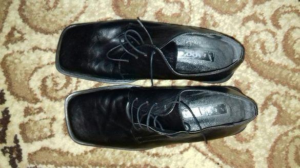 Мъжки обувки естествена кожа -български