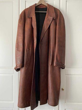 Vand haina de piele barbateasca, marimea XL