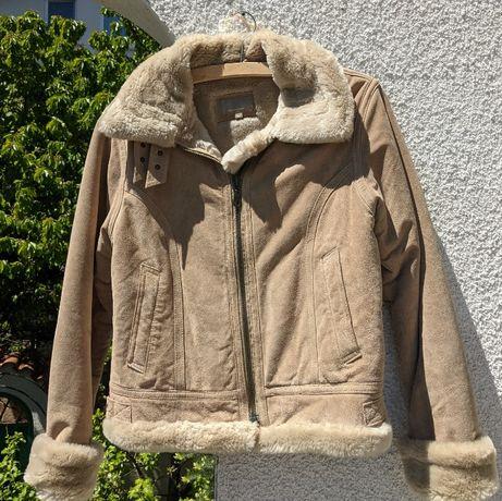 Дамско, кожено яке (размер L/44)