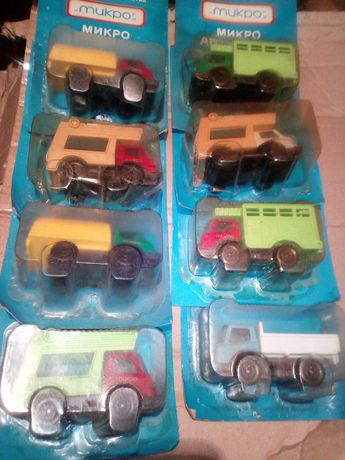 Ретро БГ колички и камиончета