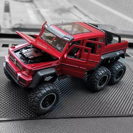 Металлические машинки модельки Mercedes-Benz 6×6 Amg