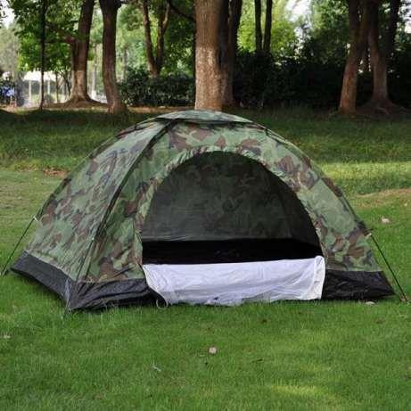 Нова четириместна камофлажна палатка с комарник 208/208/145см