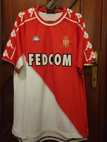 Tricou fotbal AS Monaco 1999/2000, Simone 11, L/XL