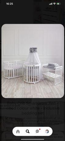Продам кроватку 8в1 для новорожденного до 3х лет.