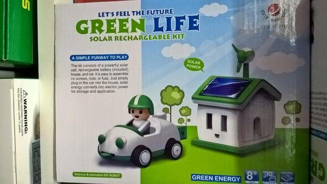 Kitul solar reîncărcabil masina si casa