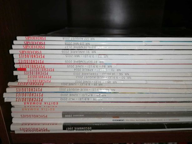 Colectie PSYCHOLOGIES 22 buc