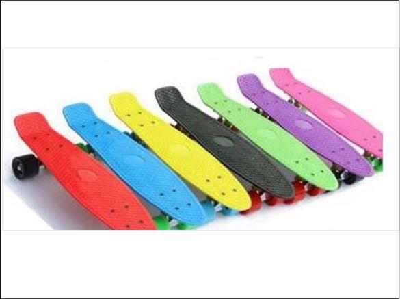 Скейтборд /пениборд със светещи колелца - Пени борд /Penny board