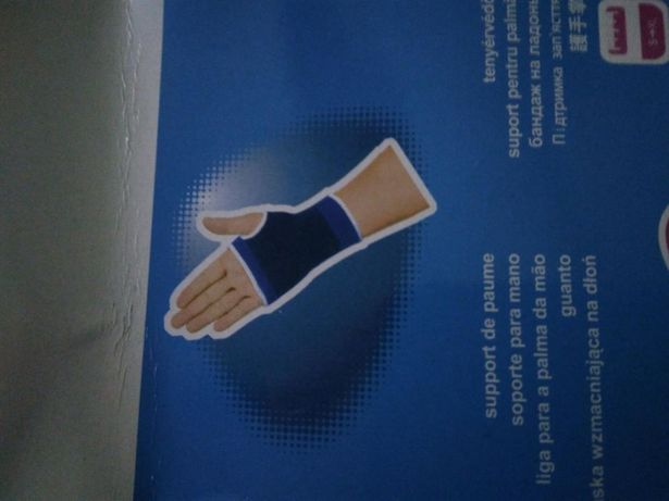 Suport palma elastic aparatoare mărime unica gantere ciclism fitness