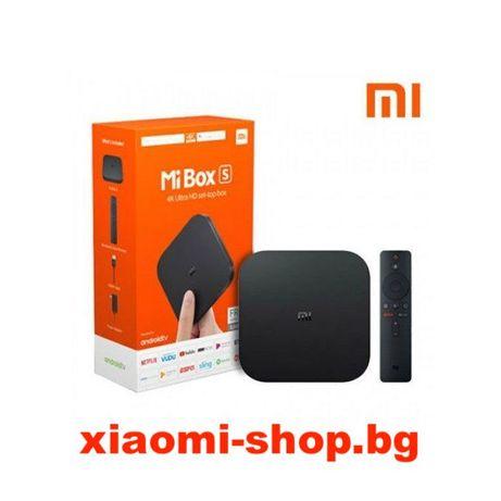 Xiaomi MI TV Box S NEW андроид ТВ бокс 24м гаранция международна верс