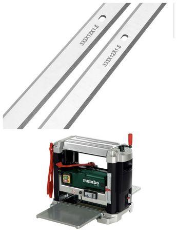 Set 2 lame cutite pt masina de rindeluit Metabo DH330 rindea abricht