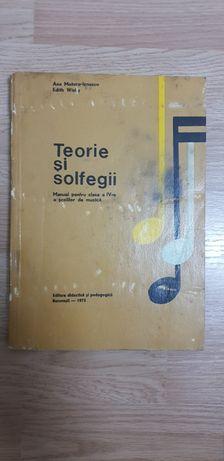 Manual Teorie si solfegii