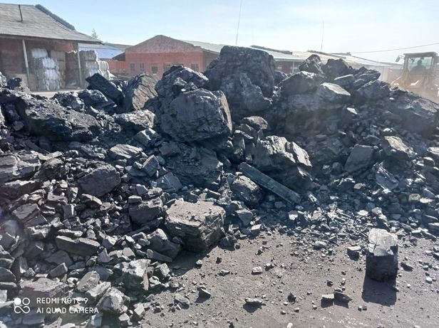 Крупный уголь с каражиры