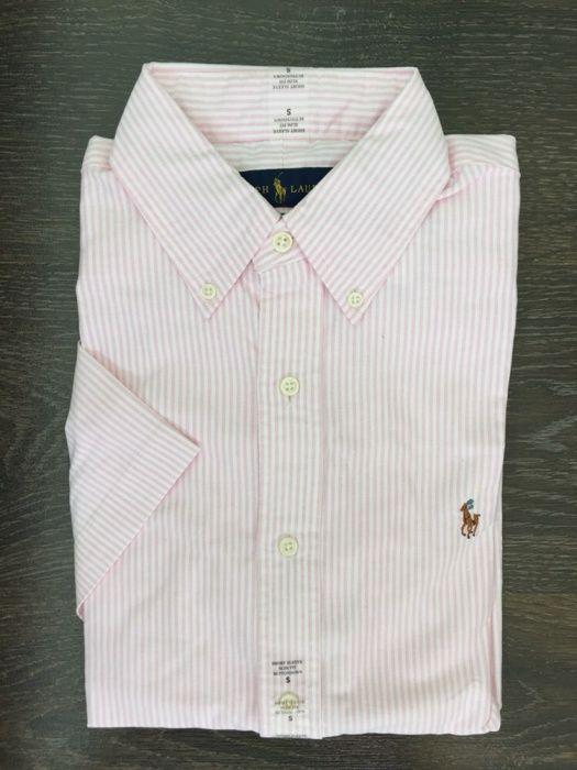 Ralph Lauren Bărbați cămașă Oxford cu mâneca scurta, S Arad - imagine 1