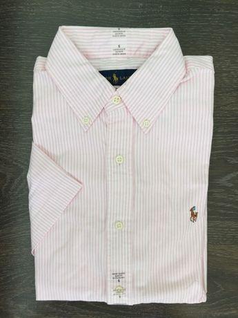 Ralph Lauren Bărbați cămașă Oxford cu mâneca scurta, S