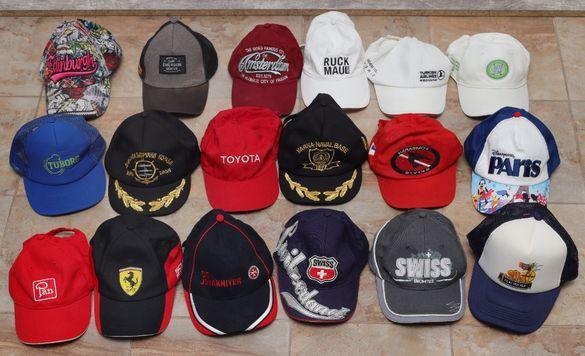 Продавам колекция от шапки