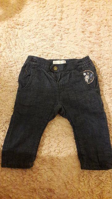 Pantaloni blugi bebe marimea 74