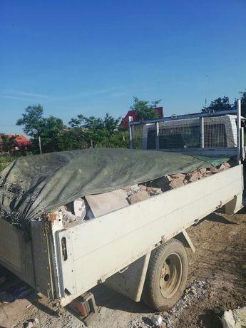 Transport moloz nisip pamant oferte pret fara concurenta  mobila marfa