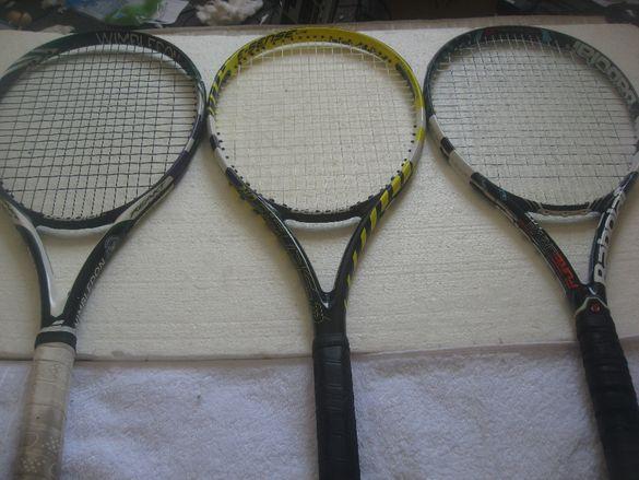 Тенис ракета Head ,Babolat, Wilson,Prince,Dunlop -Детски 21,23,26