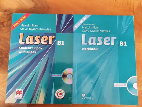 Учебник и тетрадка по Немски език Laser B1